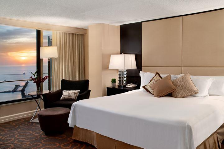 Luxury Downtown Chicago Hotel Swissotel Chicago - 8 awesome extras in luxury hotel rooms