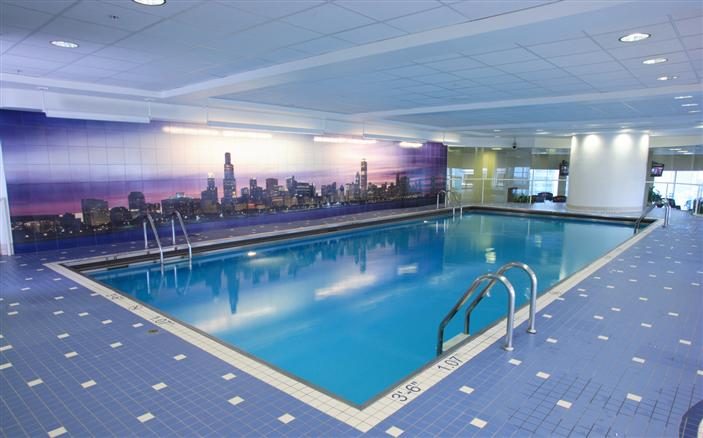 Chicago luxury hotel spa indoor pool swissotel - Pools in chicago ...