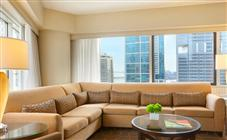 Corner Lifestyle City View Suite at Swissotel Chicago