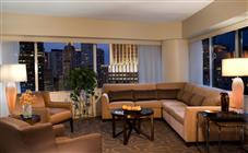 Corner Executive Suite Double at Swissotel Chicago