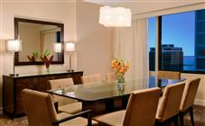 Skyline Duplex Suite at Swissotel Chicago