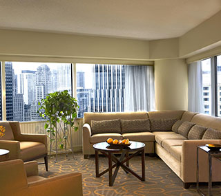 Corner Executive Suite at Swissotel Chicago