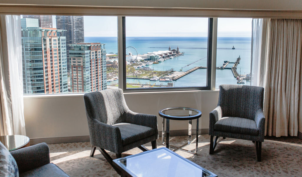 Classic City View King at Swissotel Chicago