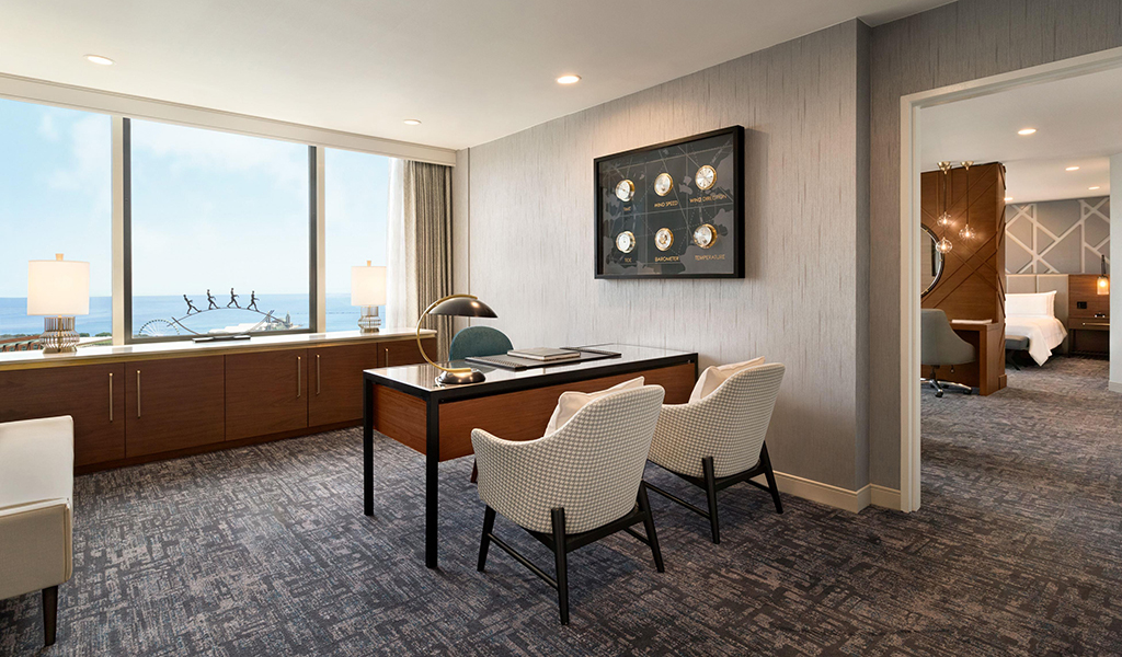 Presidential Suite at Swissotel Chicago