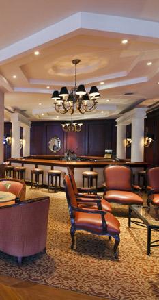 Lobby-Bar im Swissôtel Lima