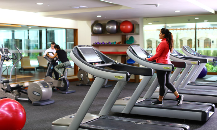 Gym at Swissotel Lima
