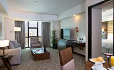executive suite at Swissotel Lima