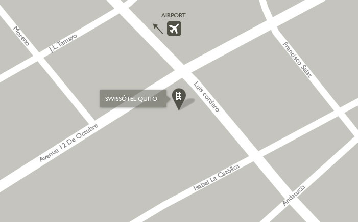 Swissôtel Map Quito