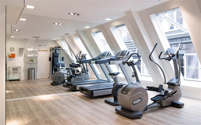 Gym at Swissotel Amsterdam