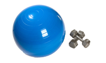 健身锻炼并焕发活力