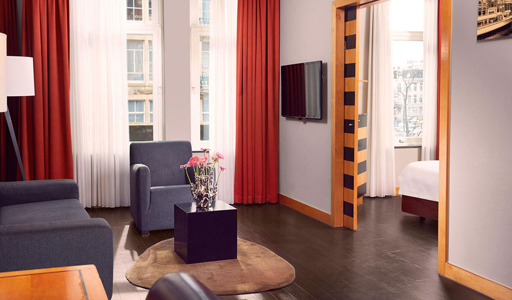 City View Suite at Swissotel Amsterdam
