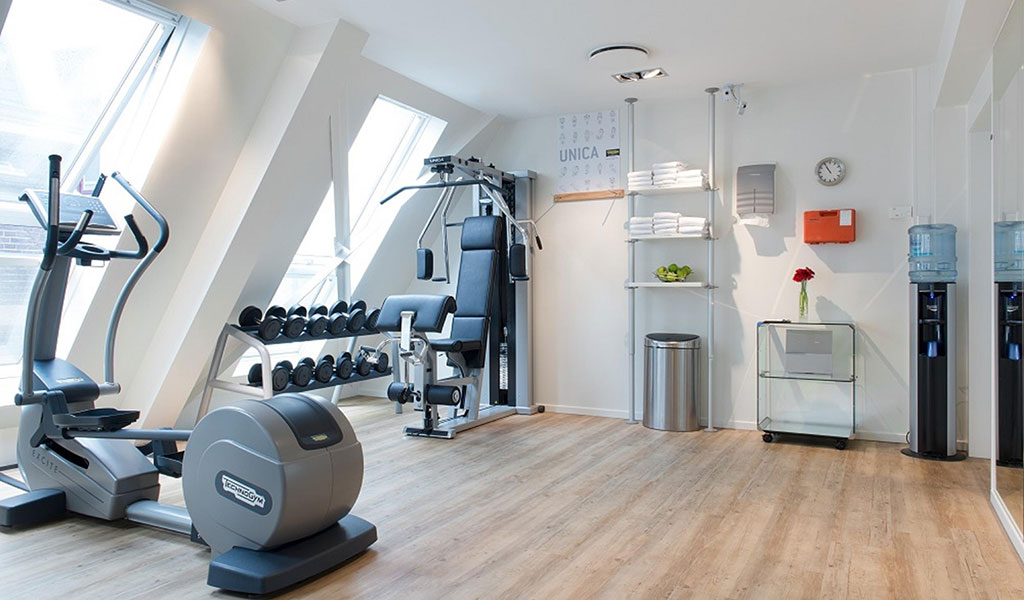 Fitnesscenter im Swissôtel Amsterdam