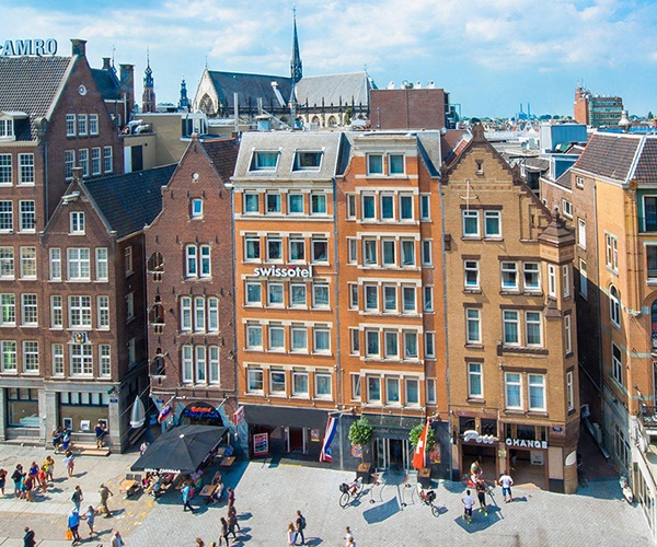 Amsterdam Karta Hotell.Swissotel Amsterdam Luxury Hotel In Amsterdam Swissotel Hotels