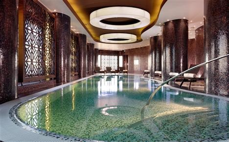 Pool des Swissôtel Tallinn