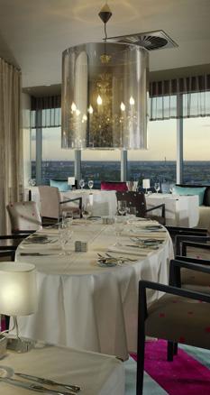 Horisont Restaurant & Bar im Swissôtel Tallinn