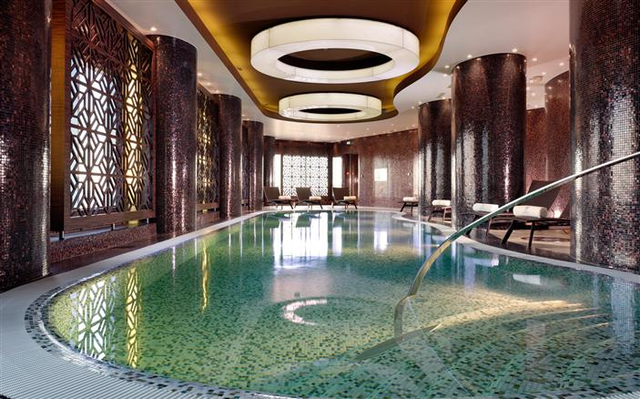 Indoor Pool at Swissotel Tallinn