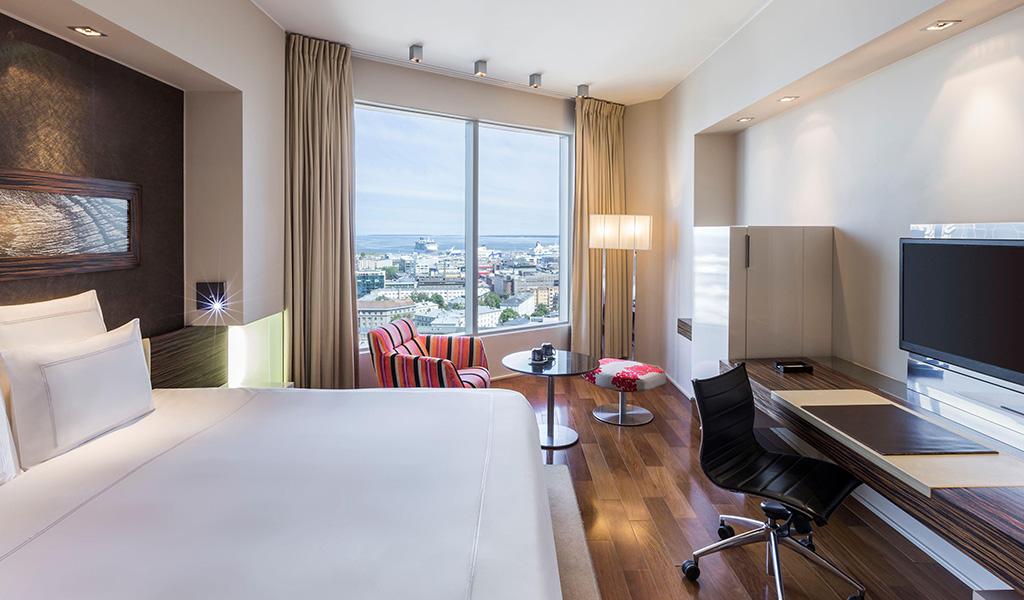 Swissotel Tallinn'deki Swiss Advantage Tek Büyük Yataklı Oda