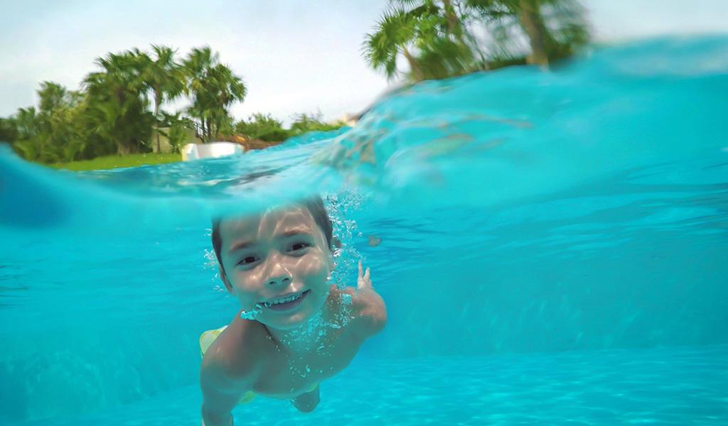 儿童日间水疗
