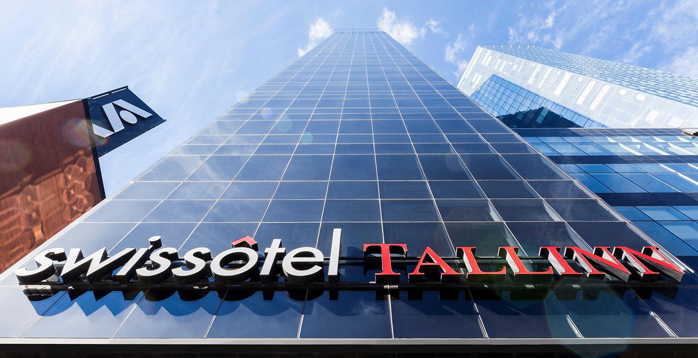 Swissotel Tallinn(スイスホテル タリン)の外観