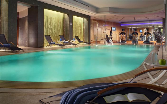 Indoor Heated Swimming Pool Gym Swissotel Krasnye Holmy