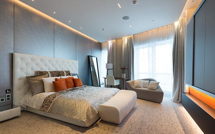 Penthouse Suite Bedroom