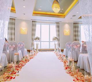 Свадьба в зале Давос