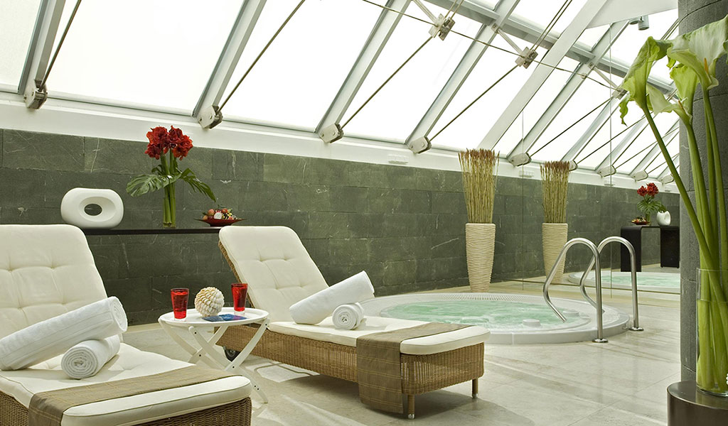 克莱斯尼赫米瑞士酒店的水疗中心