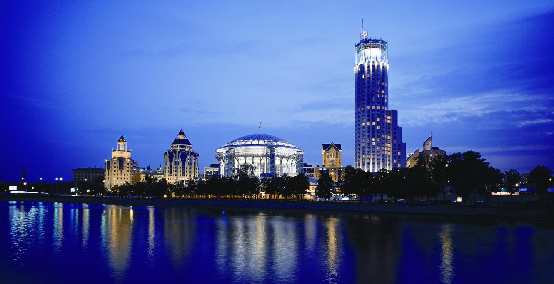 Swissotel Moscow(スイスホテル モスクワ)の外観