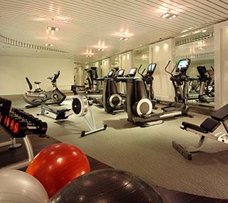 Фитнес-центр в Swissotel Le Plaza, Базель