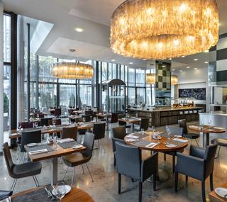 Ресторан «Grill25» в Swissotel Basel