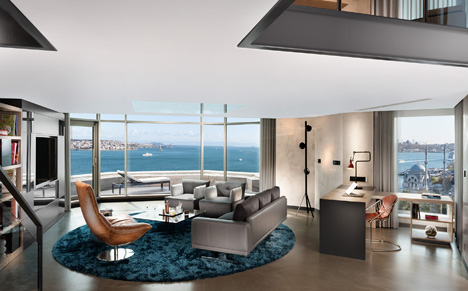 Терраса лофт в Swissotel The Bosphorus