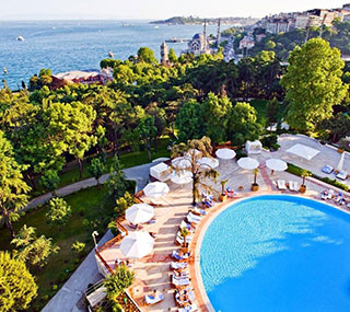 Outdoor Pool at Swissotel The Bosphorus