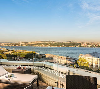 Executive Terrace Suite at Swissotel The Bosphorus