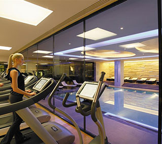 Fitness Area at Swissotel The Bosphorus
