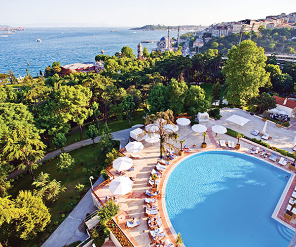 Exterior Of Swissotel The Bosphorus Istanbul