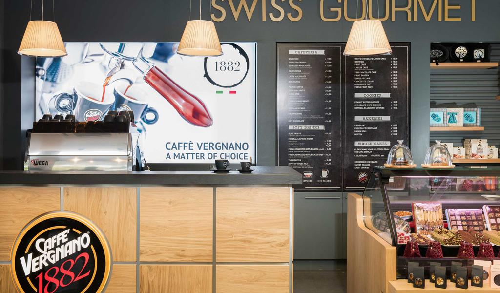 Swiss Gurme tarafından Vergnano Kahve