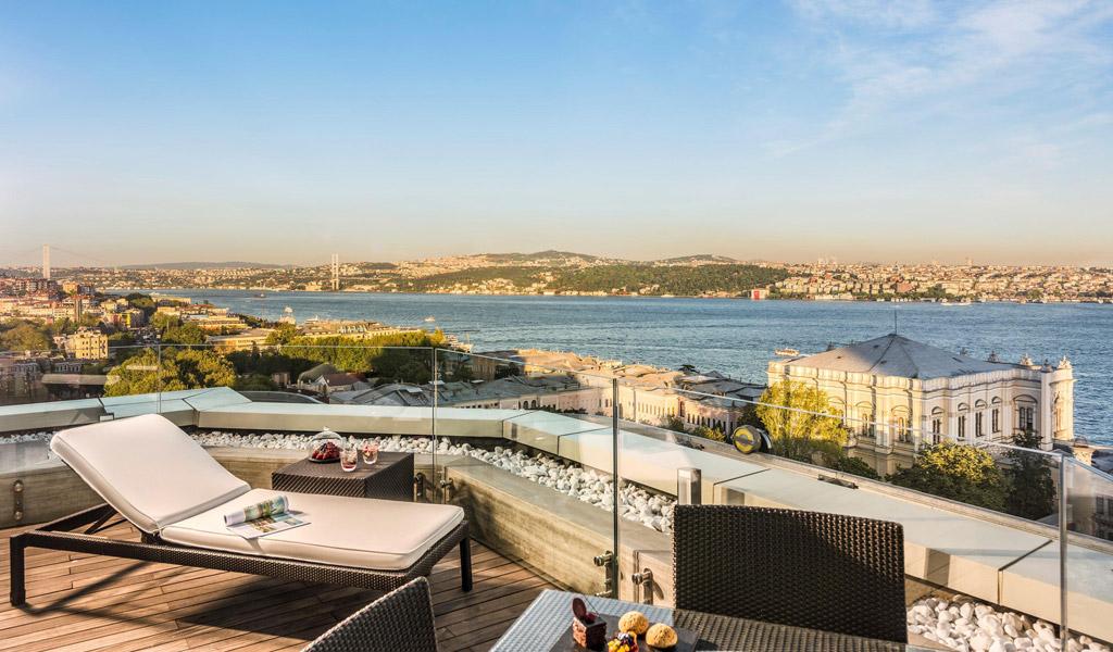 Swissotel The Bosphorus'de Executive Teras Suiti