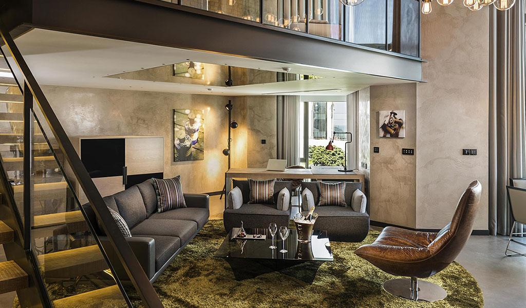 博斯普鲁斯瑞士酒店特色双卧室阁楼