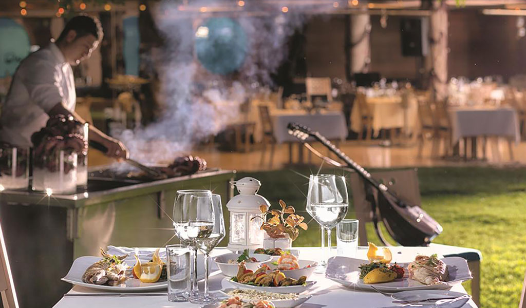 Aquarium Mezzes&Grill im Swissôtel Grand Efes Izmir
