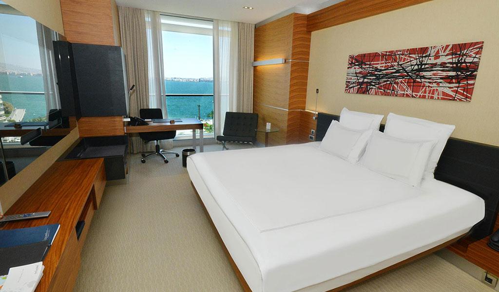 Swiss Executive Zimmer mit Meerblick
