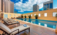悉尼瑞士酒店拐角尊贵房