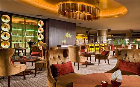 Die Flow Lounge and Bar im Swissôtel Beijing