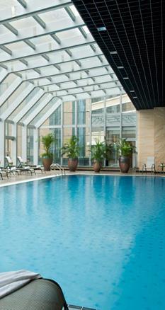 北京港澳中心瑞士酒店室内泳池
