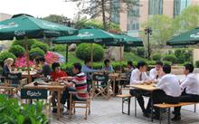 Beer Garden at Swissotel Beijing