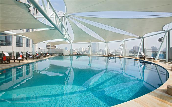 Pool View at Swissotel Foshan