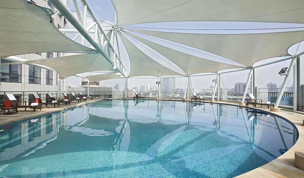 Swimming pool swissotel foshan swiss tel hotels and - Stamford swimming pool opening times ...