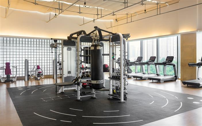 Gymnasium at Swissotel Kunshan