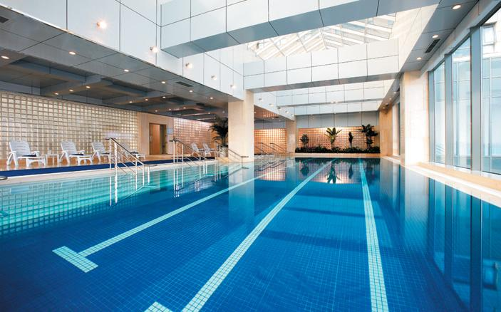 In-door Swimming Pool at Swissotel Kunshan
