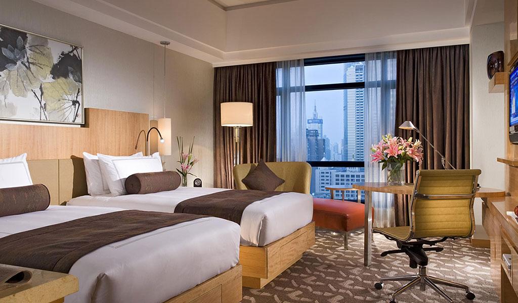 Classic Zimmer im Swissôtel Grand Shanghai