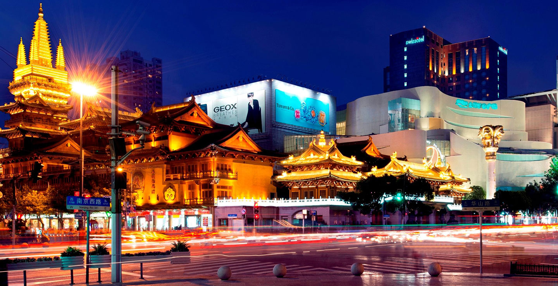 Swissotel Grand Shanghai(スイスホテル グランド上海)- 外観